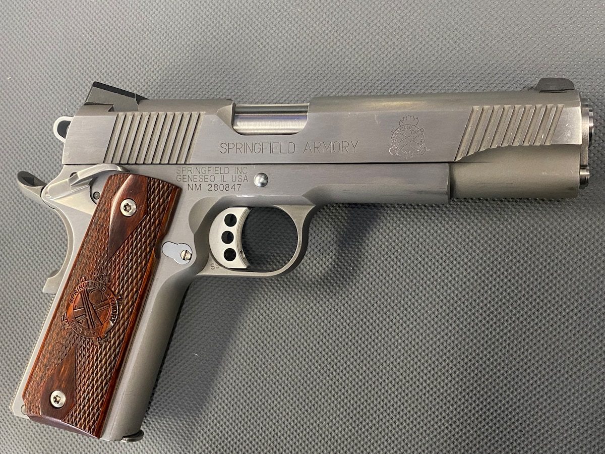 SPRINGFIELD ARMORY 1911 a1 stainless steel