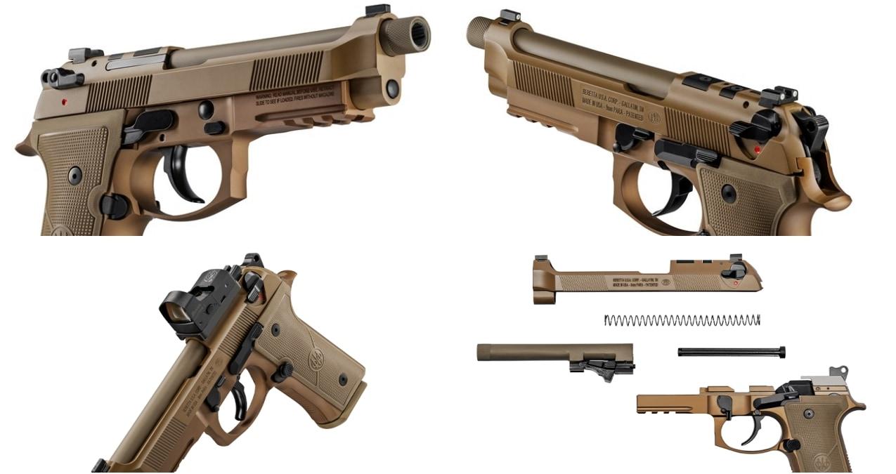 The new Beretta M9A4