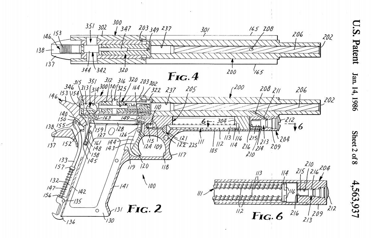 Desert Eagle patent