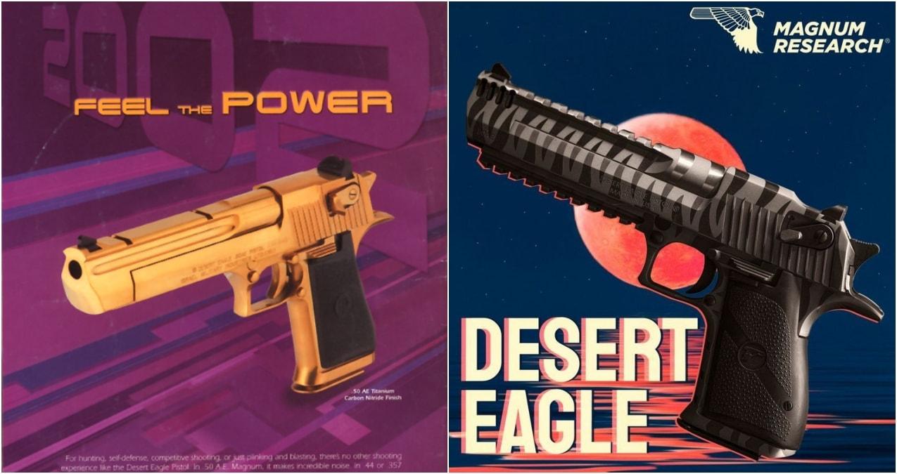 Desert Eagle ads