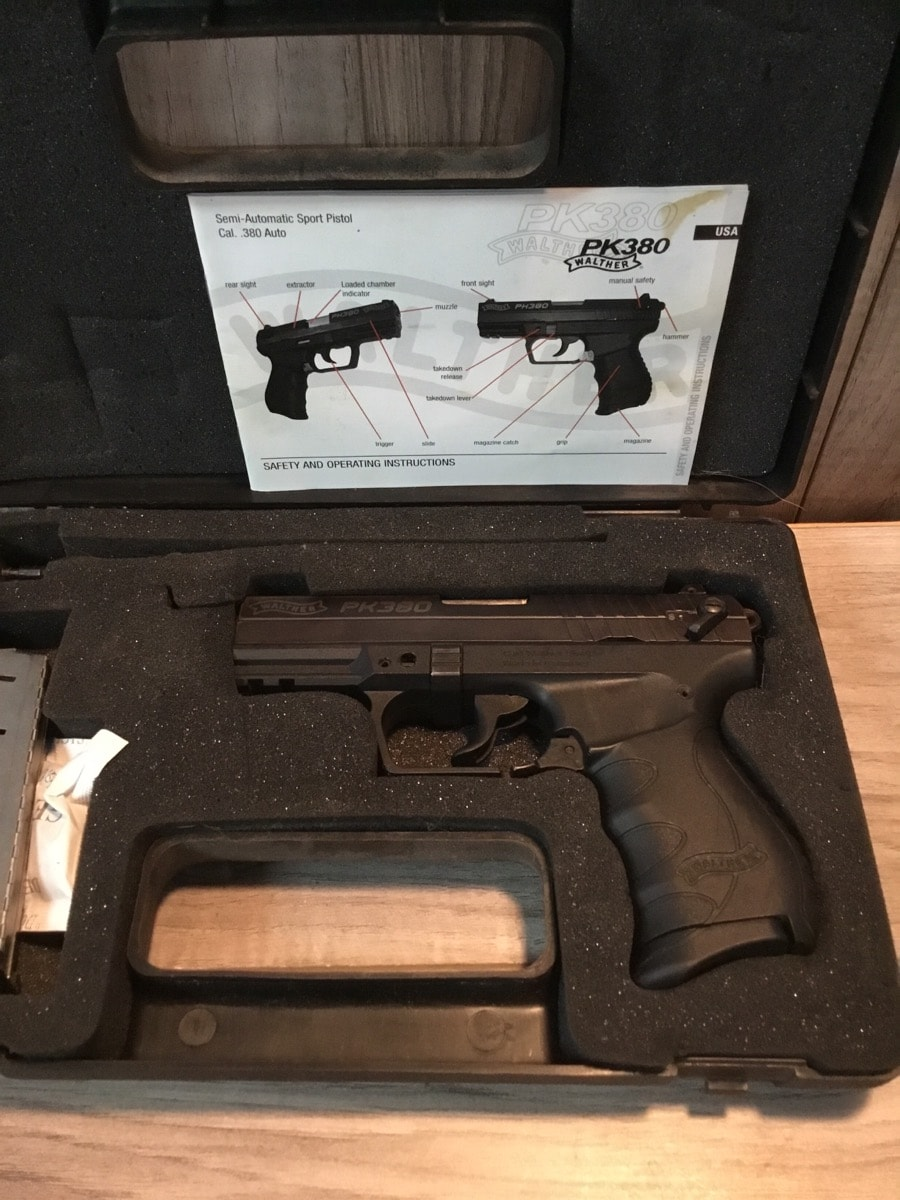 WALTHER ARMS PK380