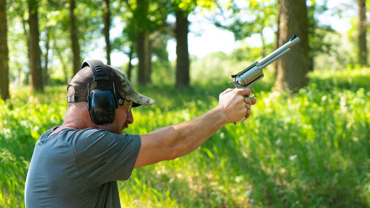 BFR Revolver Shooting