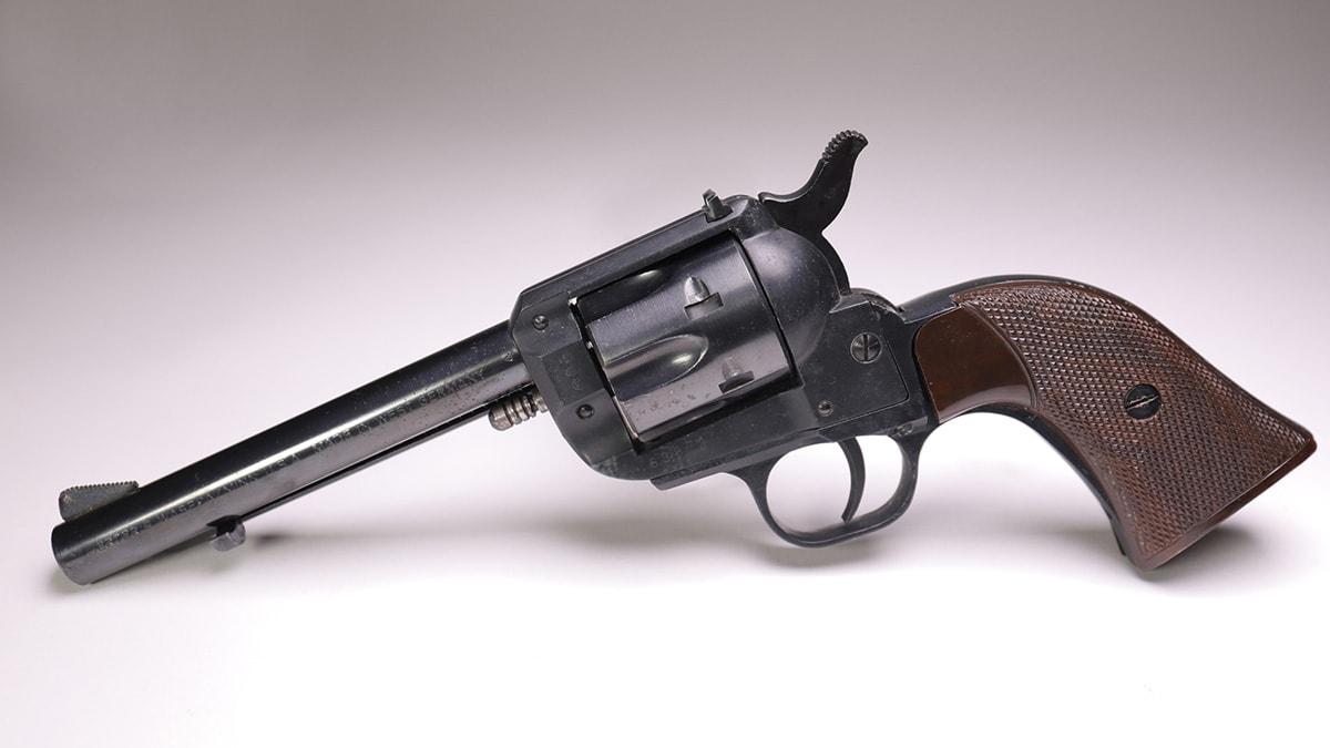A Herter's hardware store revolver