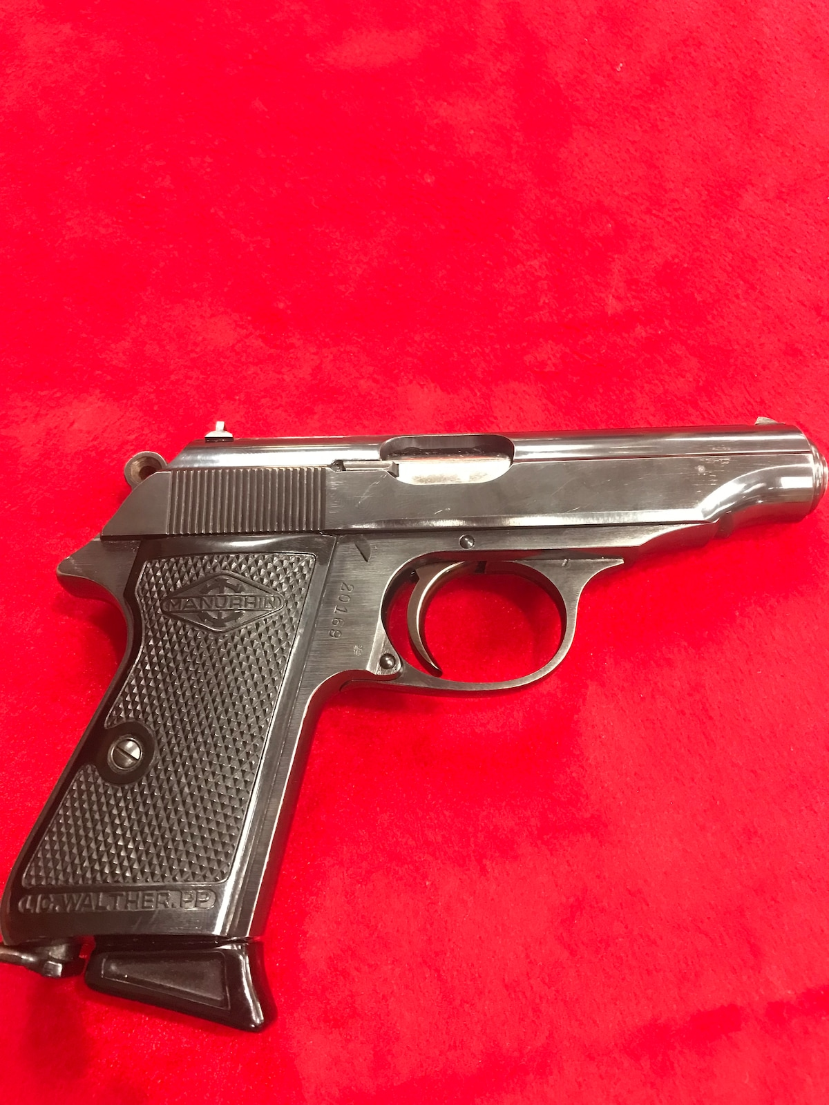 WALTHER, FRENCH-MADE BY MANURHIN pp