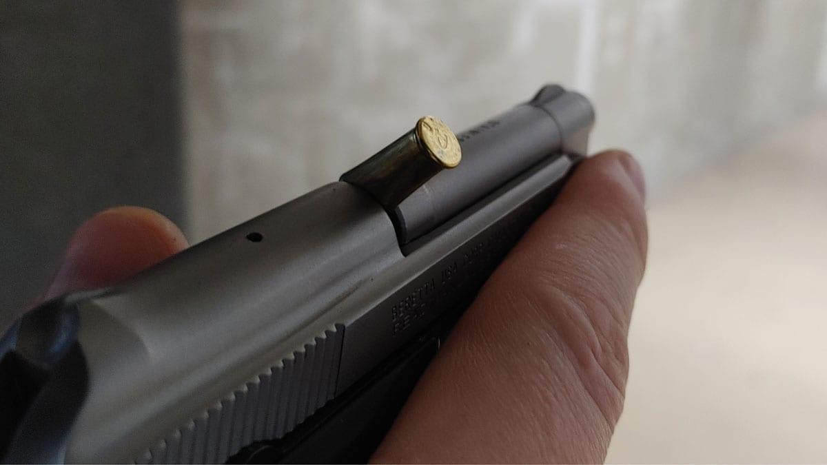 Beretta 21A Jam
