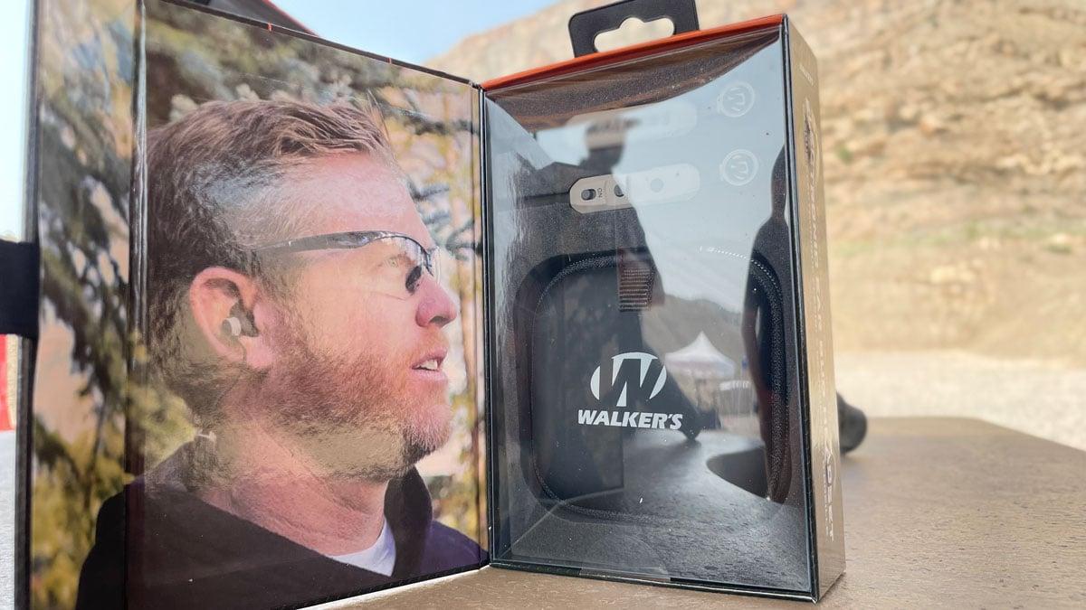 Walker's Rope Hearing Enhancers at the range