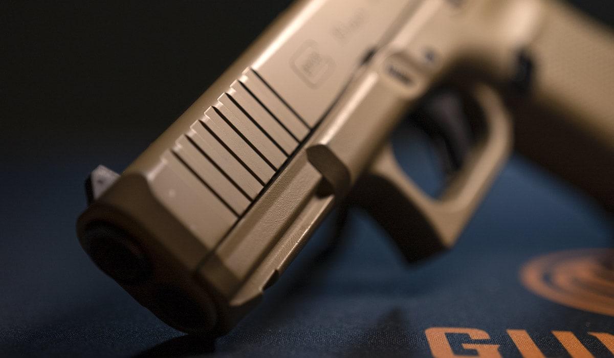 Glock G19 9mm handgun pistol