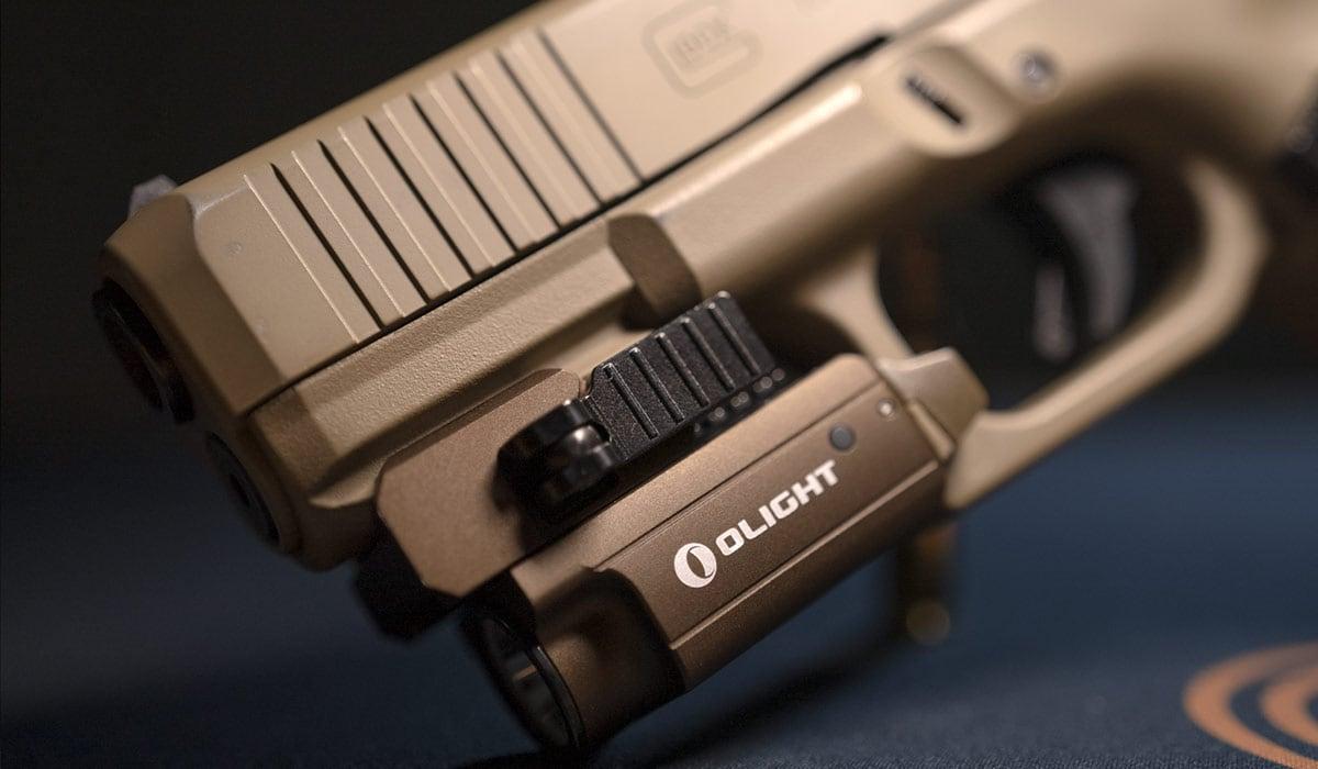 Glock G19 9mm handgun pistol olight