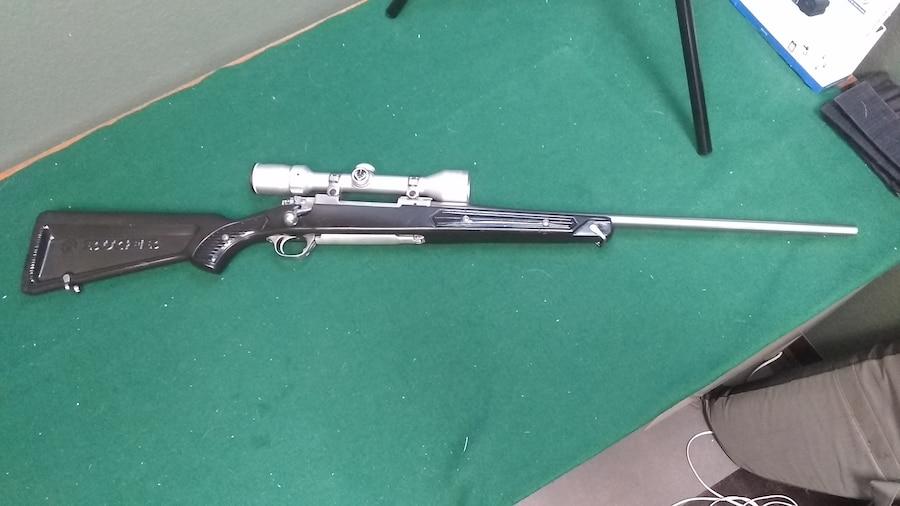 RUGER M77 Skeleton Stock