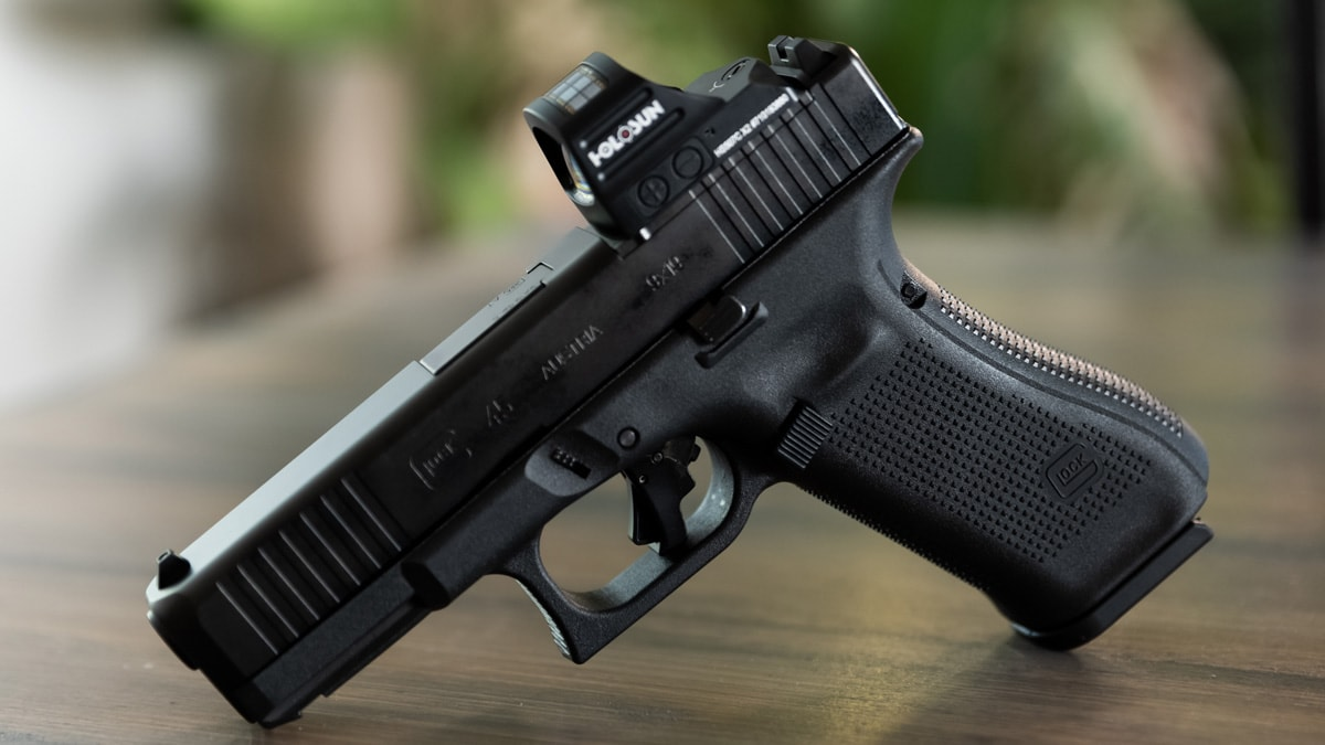 Glock 45 on a table