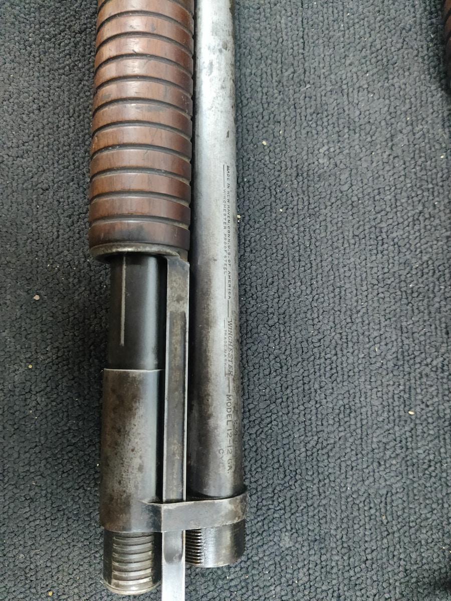 WINCHESTER Model 12 Nickel Steel w/2 Barrels