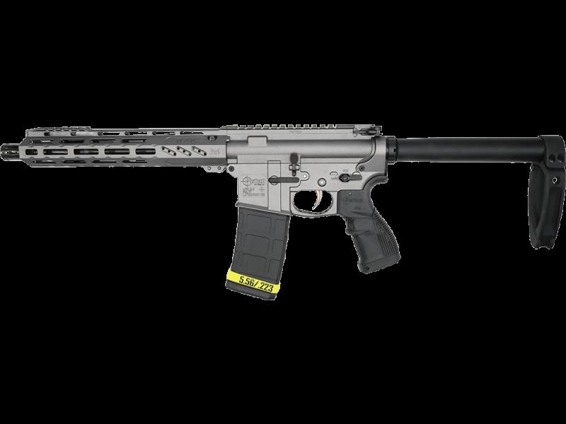 "Fostech Tiger Tungsten Semi-Automatic AR Pistol 10.5"""