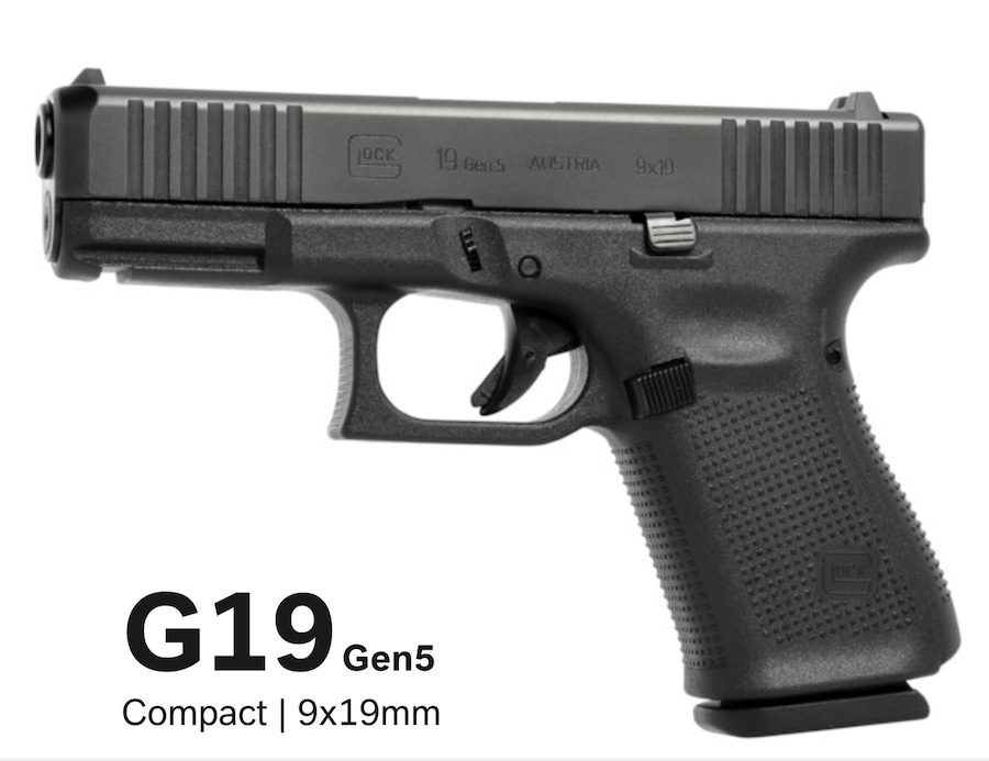 GLOCK 19 G19 Gen 5 10 Round Mags