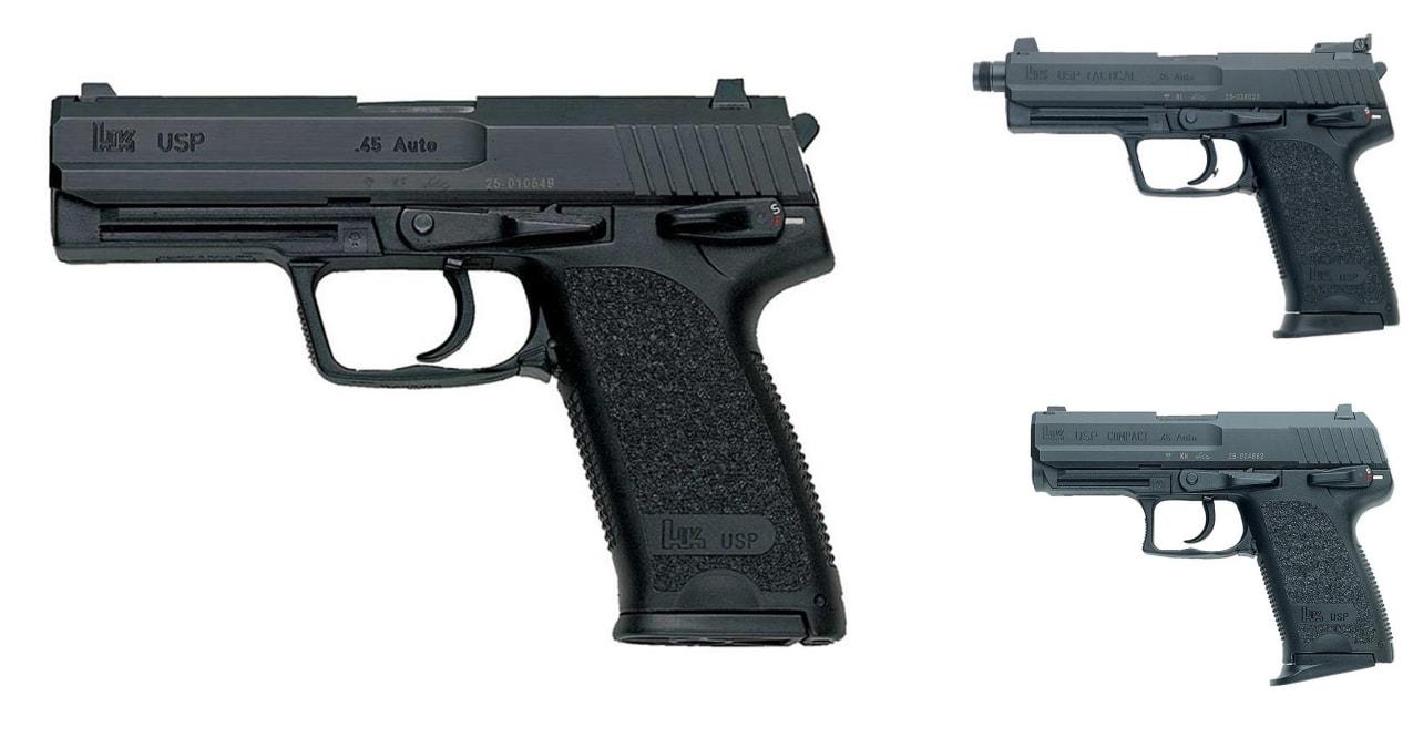 HK USP pistols