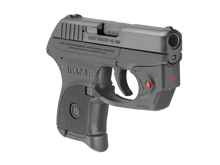RUGER LCP STANDARD WITH VIRIDIAN LASER
