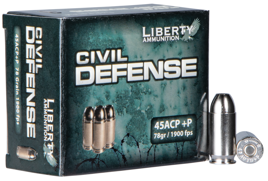 LIBERTY AMMUNITION CIVIL DEFENSE