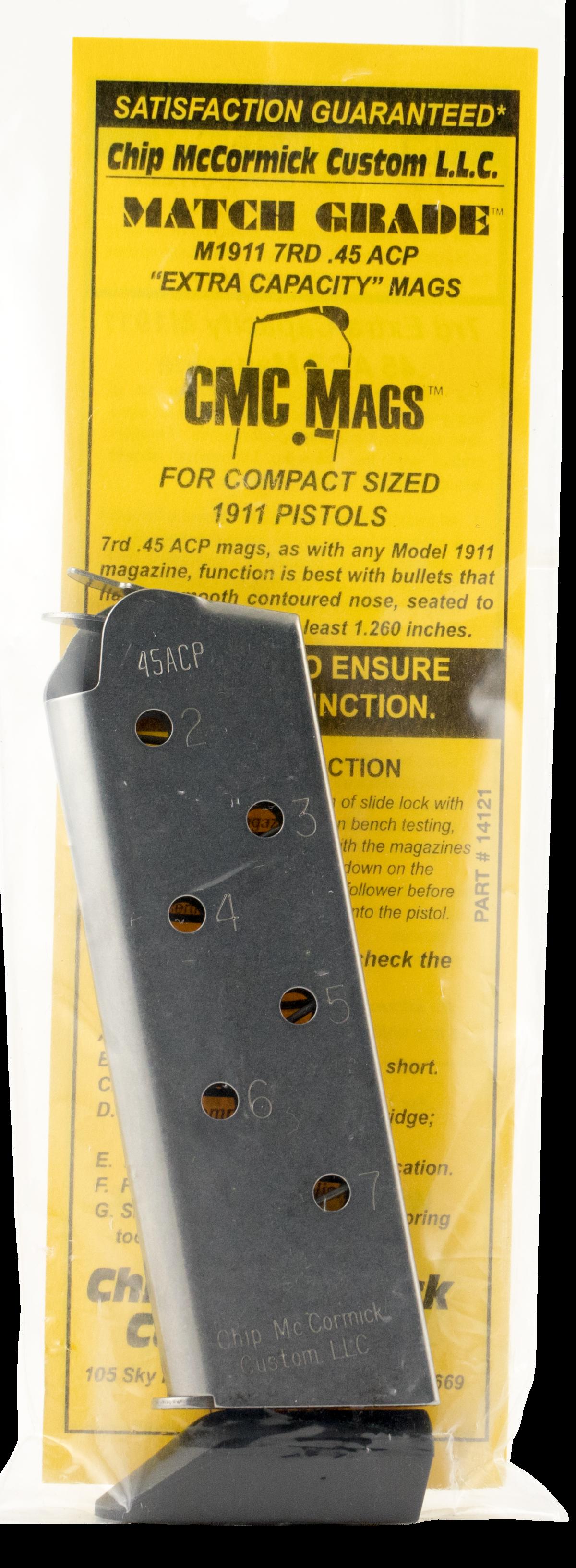 CHIP MCCORMICK CUSTOM 1911 MATCH GRADE