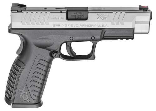 Springfield Armory XDM two toned semi auto handgun