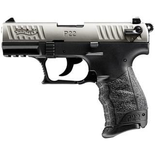 WALTHER P22 NICKEL CA COMPLIANT