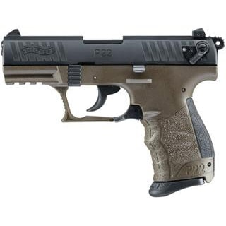 WALTHER P22 MILITARY CA COMPLIANT