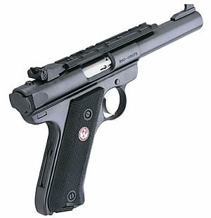 RUGER MARK III TARGET WITH RAIL