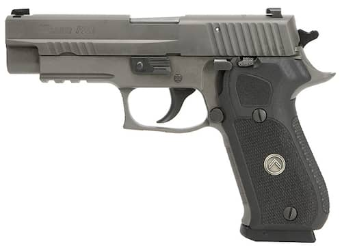 Sig Sauer 220R510LEGIO P220 Full Size Legion Grip Gray PVD Stainless Steel Slide left