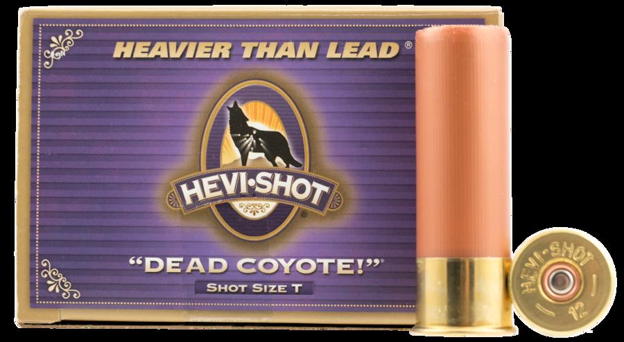 HEVI-SHOT DEAD COYOTE