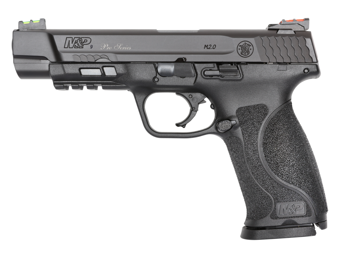 "SMITH & WESSON M&P9 M2.0 5"" PRO SERIES"