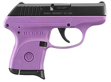 RUGER LCP LADY LILAC