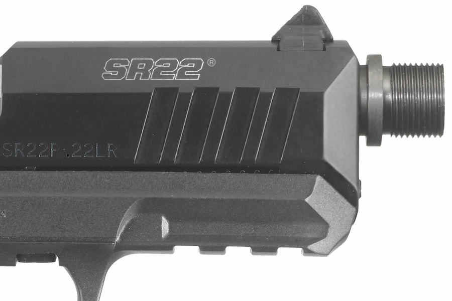 RUGER SR22 THREADED BARREL