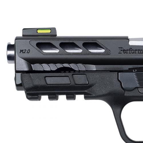 SMITH & WESSON M&P380 SHIELD EZ M2.0 SILVER PORTED BARREL