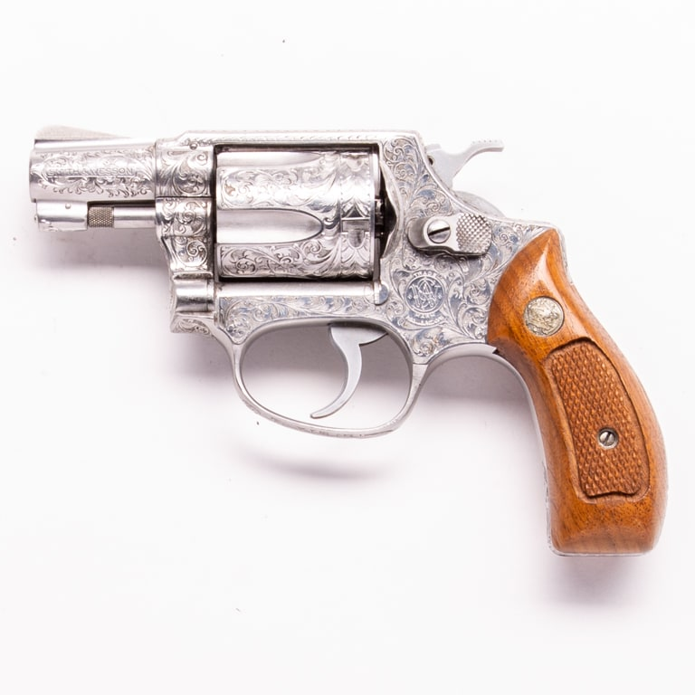 SMITH & WESSON MODEL 60 CHIEF'S SPECIAL (ENGRAVED)