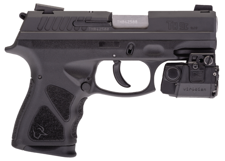 TAURUS TH9 COMPACT WITH VIRIDIAN LASER