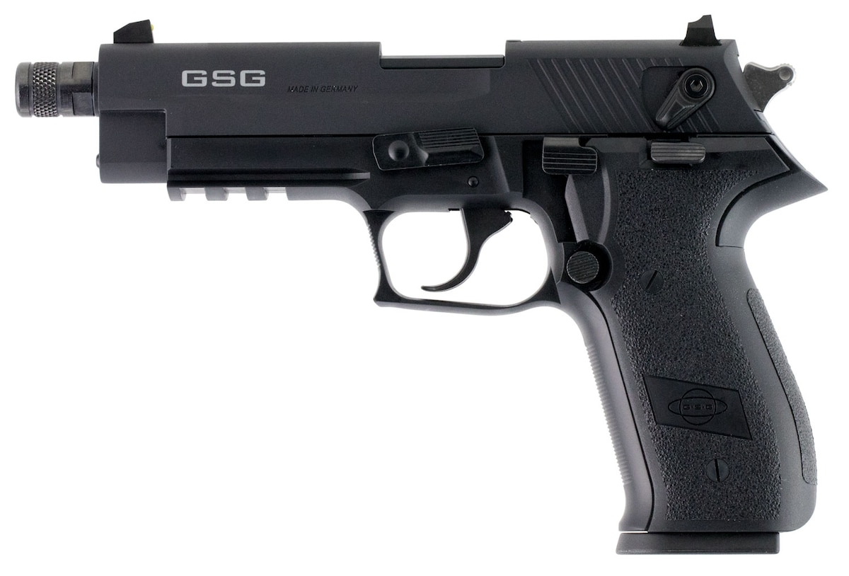 AMERICAN TACTICAL IMPORTS GSG FIREFLY THREADED BARREL BLACK