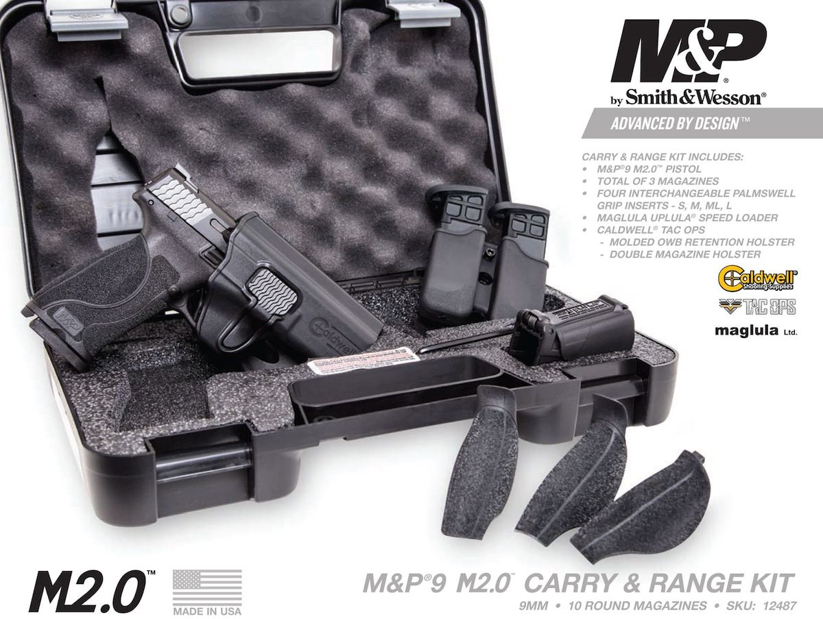 SMITH & Wesson M&P9 M2.0 CARRY AND RANGE KIT
