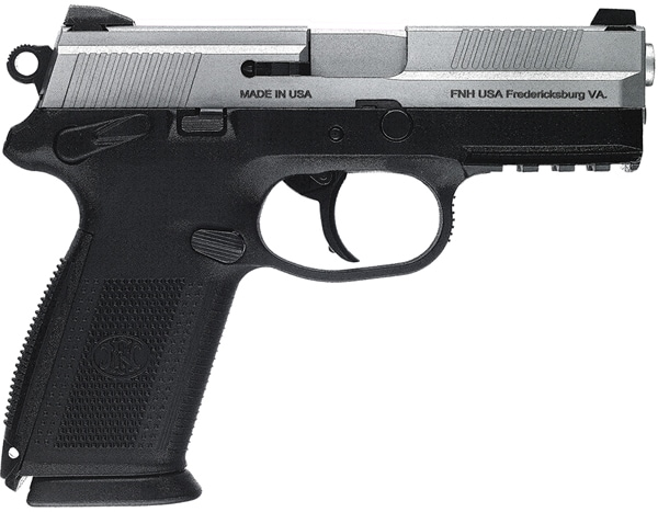 FN 66827 FNX-9 9mm 4 Dasa SS Black Manual Safety 3 17rd right.jpg