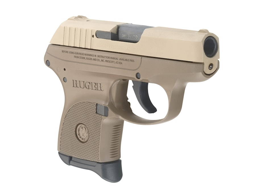 RUGER LCP FDE