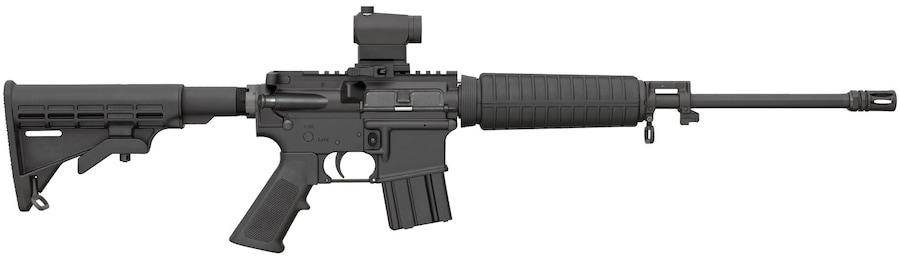 BUSHMASTER XM-15 QRC W/ MINI RED DOT