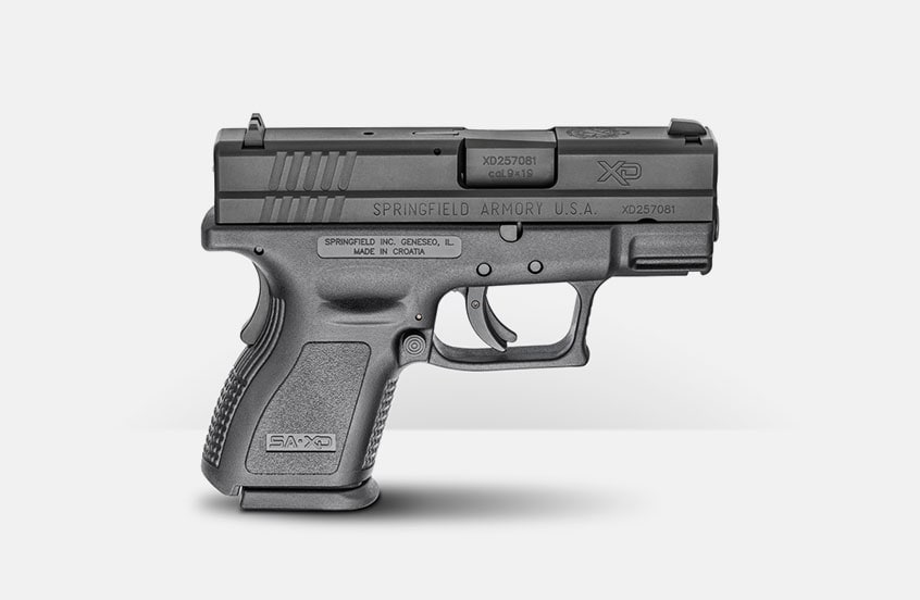 SPRINGFIELD ARMORY XD SUB-COMPACT INSTANT GEAR UP PACKAGE (CA COMPLIANT)
