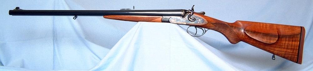 Pedersoli .45-70 double rifles. (Photo: Roscoe Stephenson)