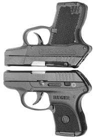 Kel-Tec P3AT and Ruger LCP