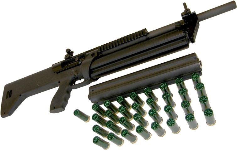1216 with spare magazine and 33 shells