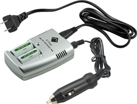 Recharger, cords and batteries