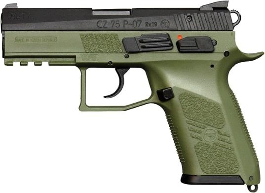 cz 75 p07 handgun