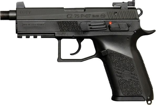 cz 75 p-07 with suppressor