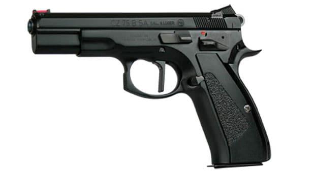CZ 75 SA Target Custom Shop pistol