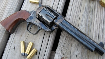 "Gun Review - Cimarron Model ""P"" in  45 Colt :: Guns com"