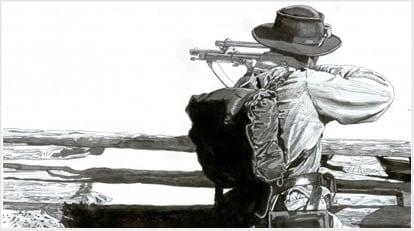 civil war sniper jack hinson