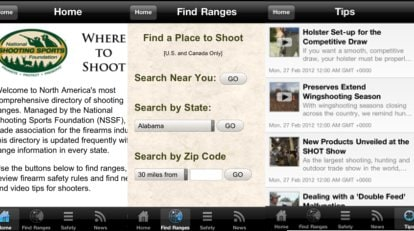NSSF Releases Where2Shoot App to Help Shooters Find Gun Ranges