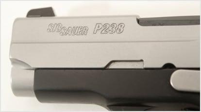 Gun Review - SIG P238, The Anti-P3AT or LCP :: Guns com